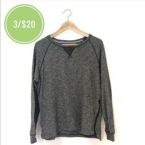 3/$20 Projek Raw Heathered Side Zipper Sweatshirt
